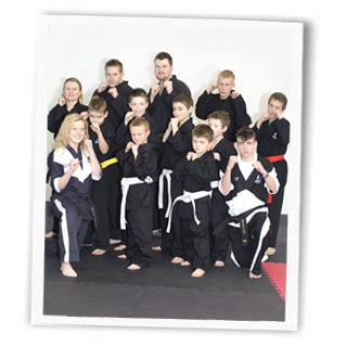 Spartans Kickboxing Academy group
